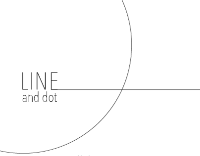 Line and Dot - Book Project