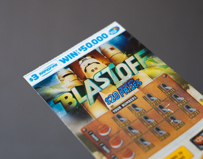Blast Off Lotto Ticket