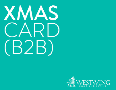 B2B Christmas greeting card