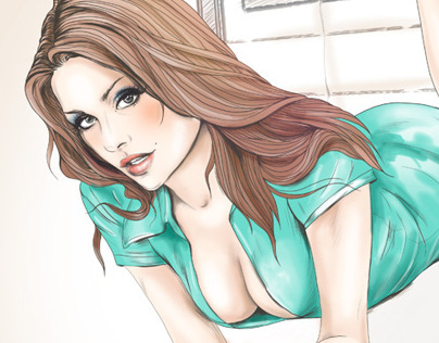 Pin-Up calendar Illustrations