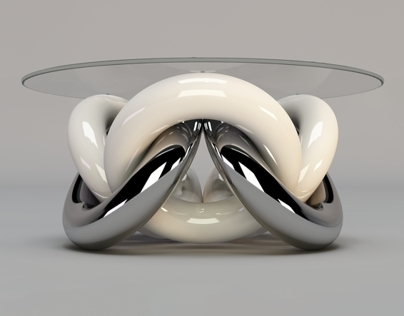 TORUS coffee table.