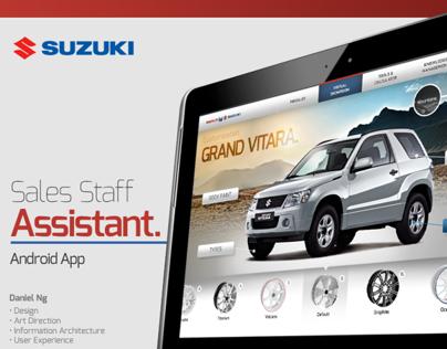 Suzuki Pitch - Sales Staff App