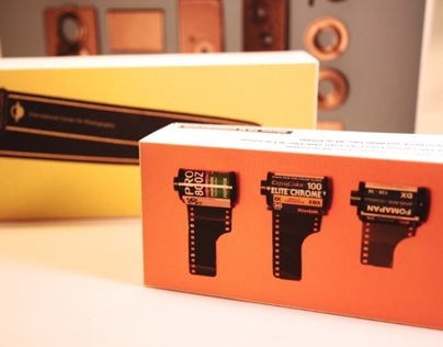 International Center of Photography Packaging Design