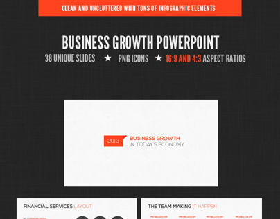 Business Growth Powerpoint