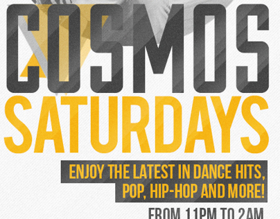 Cosmos Saturdays With DJ Dylan
