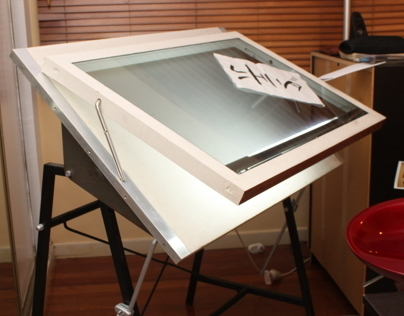Drawing Table Refurbishment