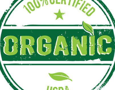Organic Logos for local produce department