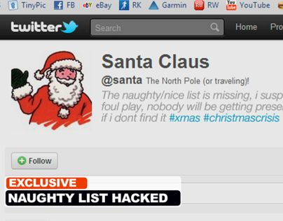 Christmas Virals - Santa Gets Hacked
