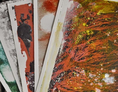 Poetry & Monoprints