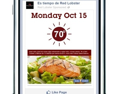Red Lobster WeatherForcast