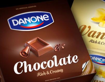 Danone crème dessert