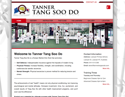 Tanner Tang Soo Do Website