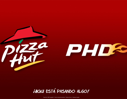 Diseño Web para Pizza Hut, PHD