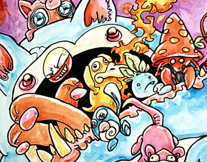 Snorlaxian Exodus (649 Monsters Pokemon Charity Show)