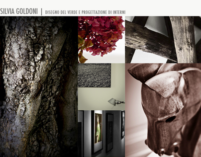 goldoni architect | website and photographies
