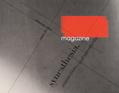 Magazine on Synesthesia