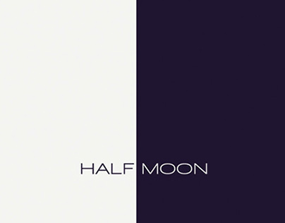 Half Moon Menu Design