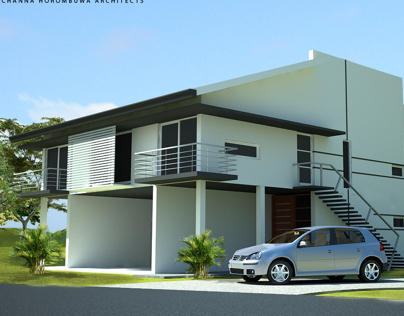 Proposed House in Kandy, Sri Lanka  -  3D