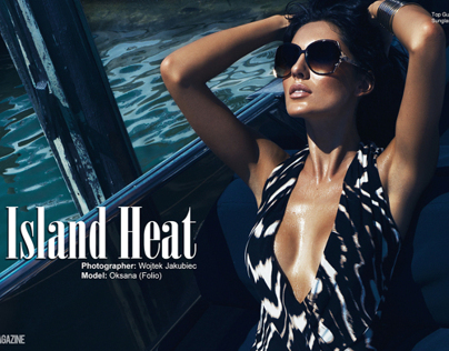 Island Heat in 23magazine.com