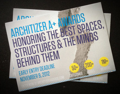 Architizer A+ Awards CFE