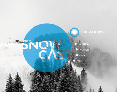 Snow cast website