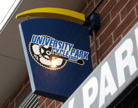 University Park Cycle Shop Logo