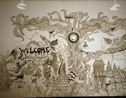 Viewfinder Media Wall Drawings