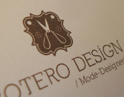 Logo and business card design concept