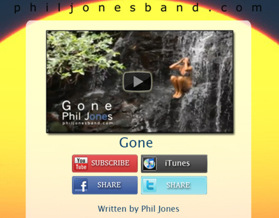 Phil Jones Band Gone Emailer