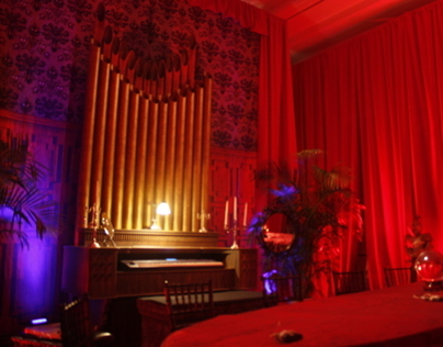 Haunted Mansion Pipe Organ