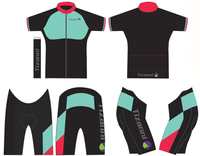 Graphic Design for Cycling Sportswear