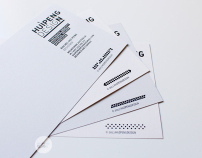 HUIPENGDESIGN Identity Stationery