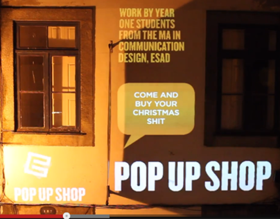 POP-UP SHOP SIMPLE MAPPING
