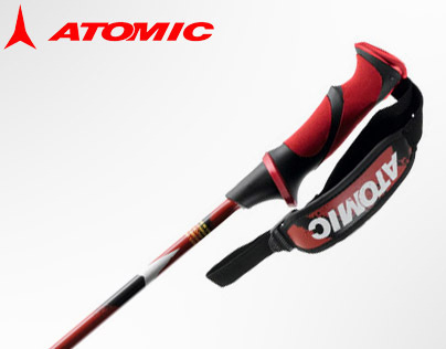 Atomic Redster Carbon 2013 race poles