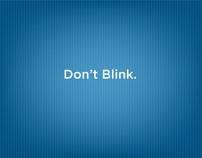 Douglas Automotive Dont Blink Internet Ad
