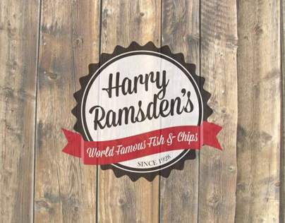 Harry Ramsdens Rebrand