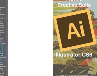 Illustrator CS6 Brochure