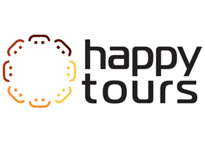 Happy Tours corporate identity (fictional)