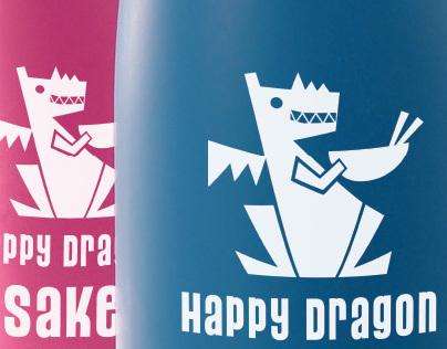 Happy Dragon Restaurant Identity