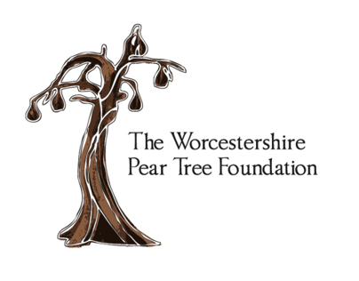 The Worcestershire Pear Tree Foundation Branding