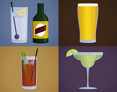 Alcohol Illustrations