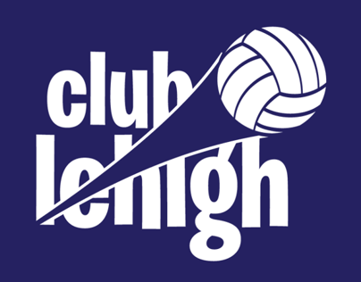 Club Lehigh Volleyball Branding