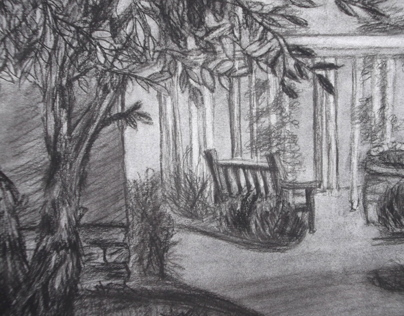 Atmospheric Perspective and Tree Study