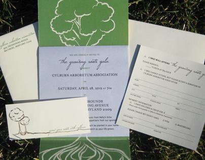 Growing Root Gala Invite