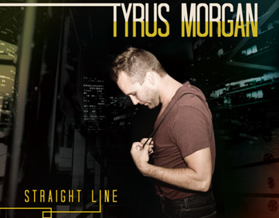Tyrus Morgan | Straight Line Album Design