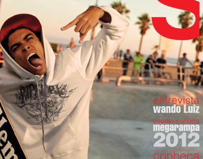 Capa da Revista The Skateboard Mag