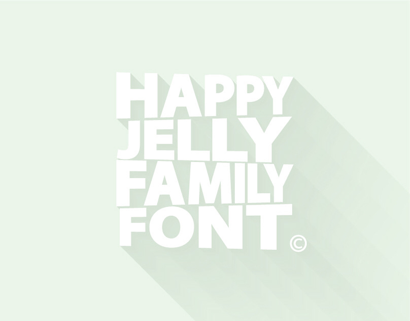 Happy Jelly Family Font