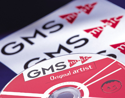 Brand identity and CD design for GMS Music