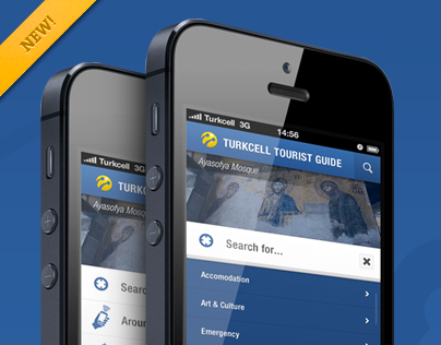 Turkcell Tourist Guide App
