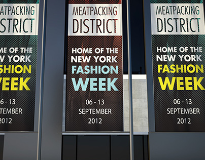 Meatpacking District Fashion Week Banners